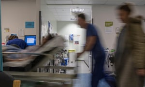 A busy NHS hospital