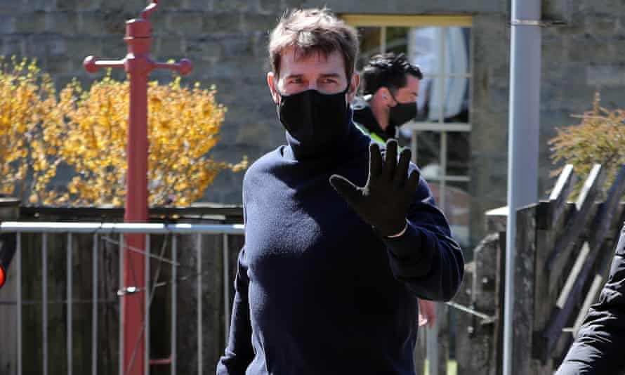Tom Cruise spotted near the market town of Pickering.