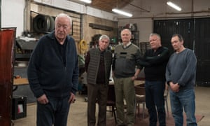 King Of Thieves, starring (from left) Michael Caine, Tom Courtenay, Jim Broadbent, Ray Winstone and Paul Whitehouse.