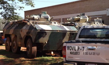 Tanks in nucleo 3: The government claims to be winning the fight against the EPP.