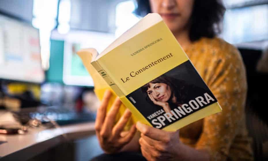 Vanessa Springora's memoir Le Consentement