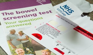 Bowel cancer screening is currently offered on the NHS from the age of 50 in Scotland