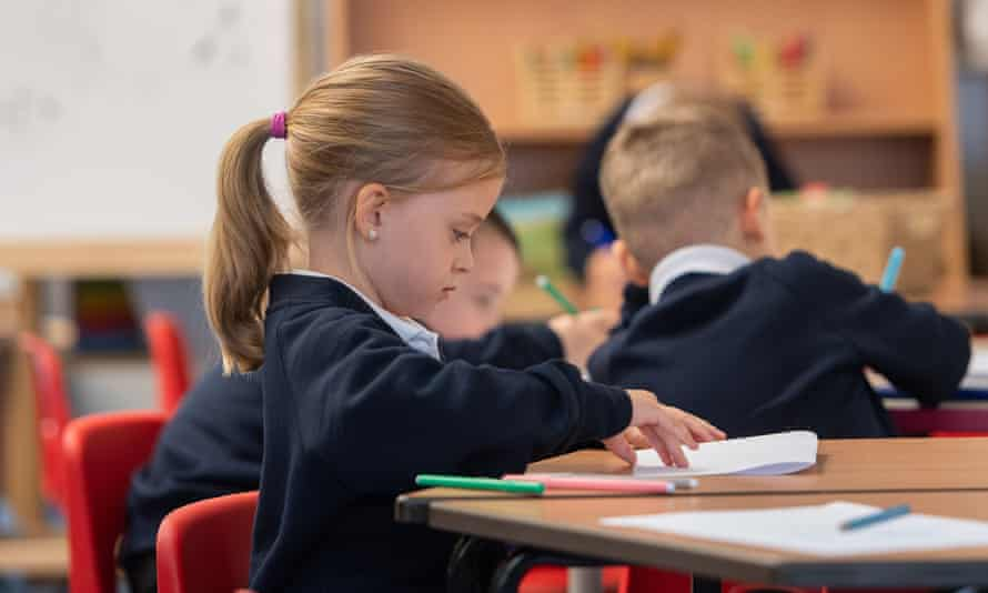 The reopening of primary schools depends on the infection rates in their local area.