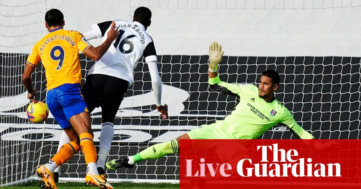 Fulham v Everton: Premier League – live!