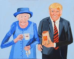 Queen Elizabeth and Donald (2018)