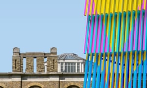 Worlds collide … how Dulwich gallery will look with its 2019 pavilion.