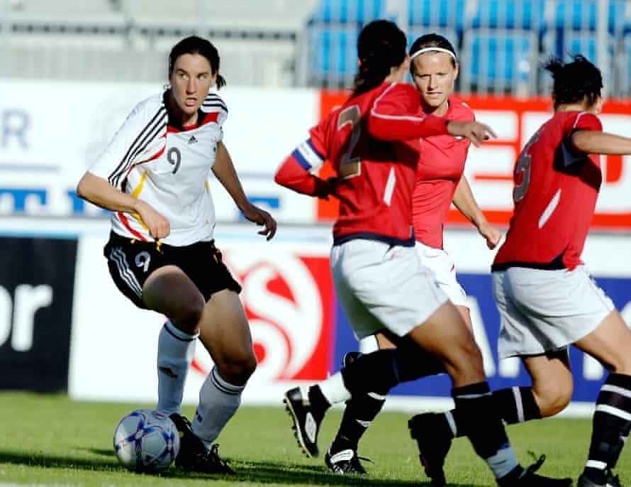 Birgit Prinz helped German football hit new heights in the 21st century.