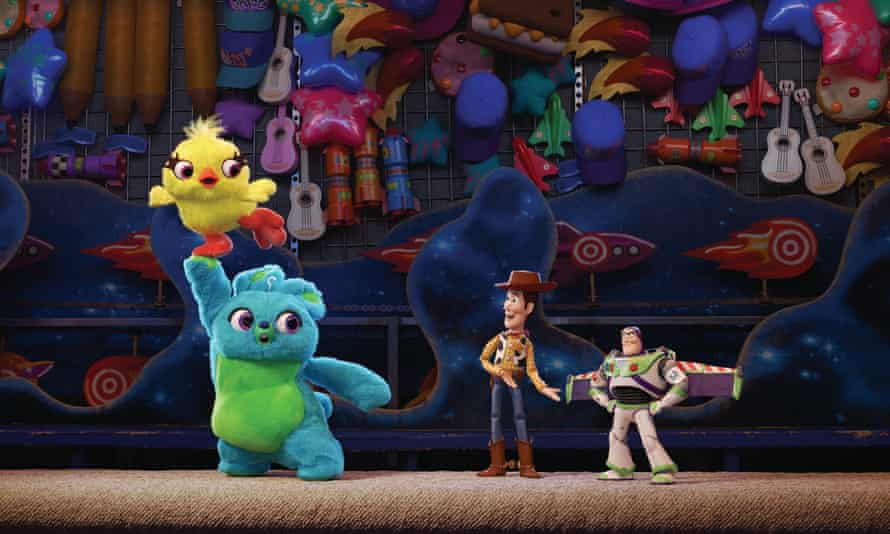Ducky (Keegan-Michael Key) and Bunny (Jordan Peele) are among the new toys joining the motley gang of plastic playmates in Toy Story 4.