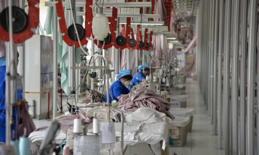 A factory in Binzhou in Shandong province. China's economy grew by 6.2% in the second quarter of this year.