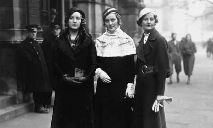 Unity, Diana and Nancy Mitford: 'She accompanies me through life.'