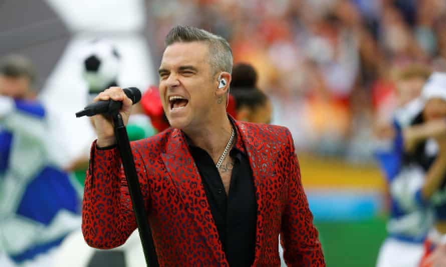 Robbie Williams … had the testosterone levels of an 80-year-old.