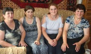 From left: Kima Alipyan, Anzhela Ayvazyan, Hasmik Zaqinyan and Taguhi Adamyan in Movses, July 2016.