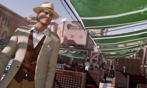 Hitman: 'it looks like a serious assassination sim, but through its wonderfully open and pliable systems, it often makes you feel more like Mr Bean than James Bond'.
