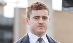 Irish rugby player Paddy Jackson, who was unanimously acquitted of rape and sexual assault.