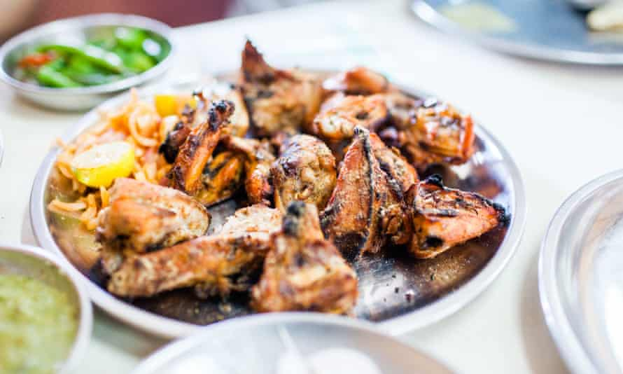 Tandoori chicken is a staple of Prashad: Cooking With Indian Masters.