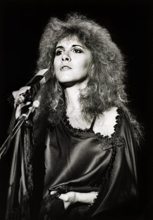 She was sustainable before it was a thing, re-using the outfit on the cover of Fleetwood Mac's Rumours on her solo debut Bella Donna and years later on 2001's Trouble in Shangri-La.