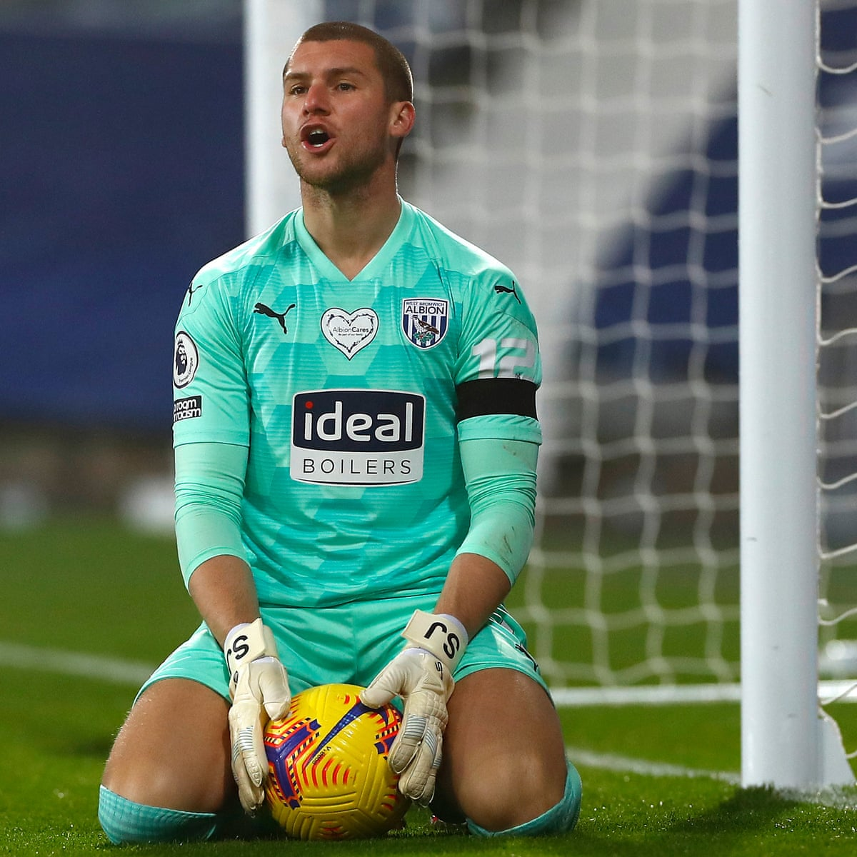 West Brom's Sam Johnstone: 'It hurts when people slag footballers off' |  West Bromwich Albion | The Guardian