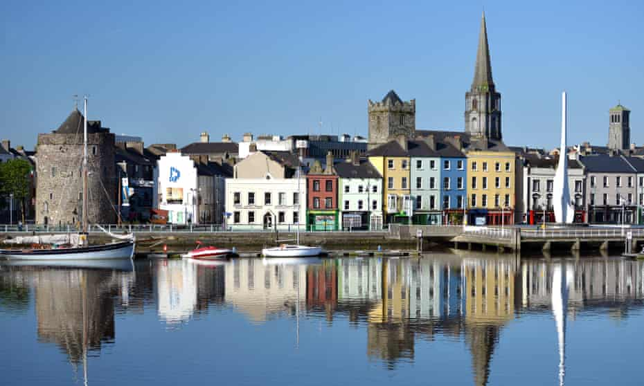 Waterford's historic waterfront.