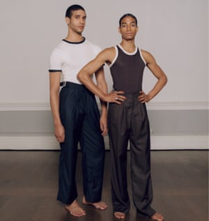Exploring ideas of black male identity: Grace Wales Bonner's S/S 2016 collection.