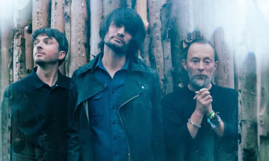 Tom Skinner, Jonny Greenwood and Thom Yorke, aka the Smile.