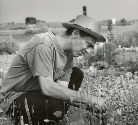 It began with 30 roses that withered ... Derek Jarman at Prospect Cottage.