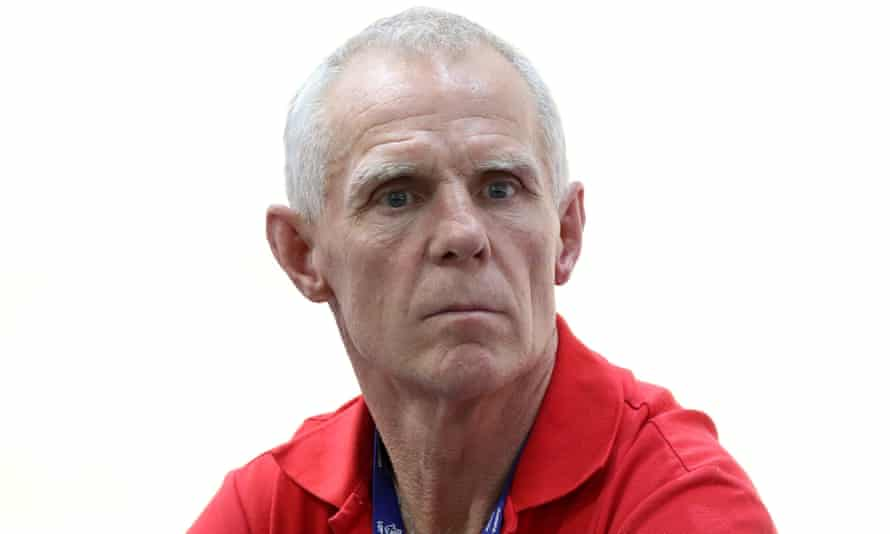 Shane Sutton has denied testing positive in 100 tests during his cycling career.