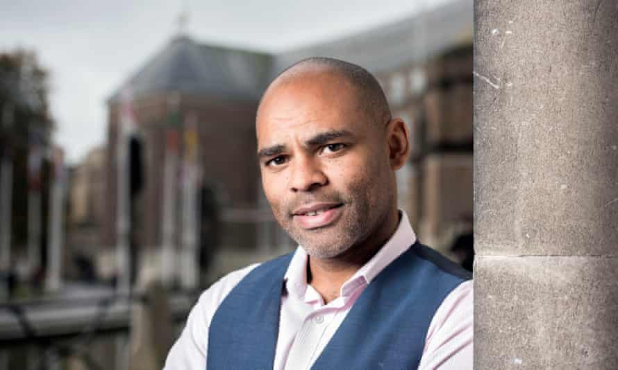 Bristol mayor Marvin Rees outside his office in City Hall.