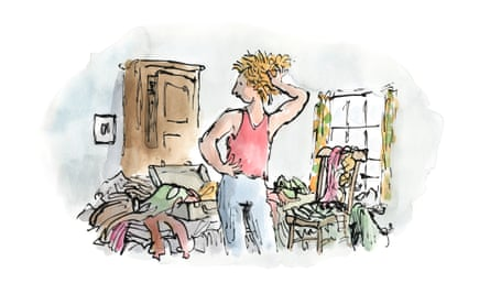 Quentin Blake's artwork for the series Life in Vincent Square for an eating disorders unit