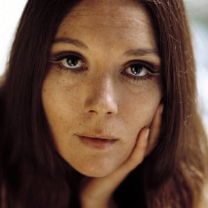 Diana Rigg in the early 1960s