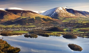 A view across the Lake District