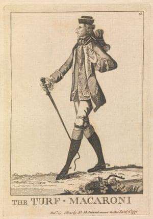 Matthew Darly's illustration of Augustus Henry Fitzroy, third Duke of Grafton.