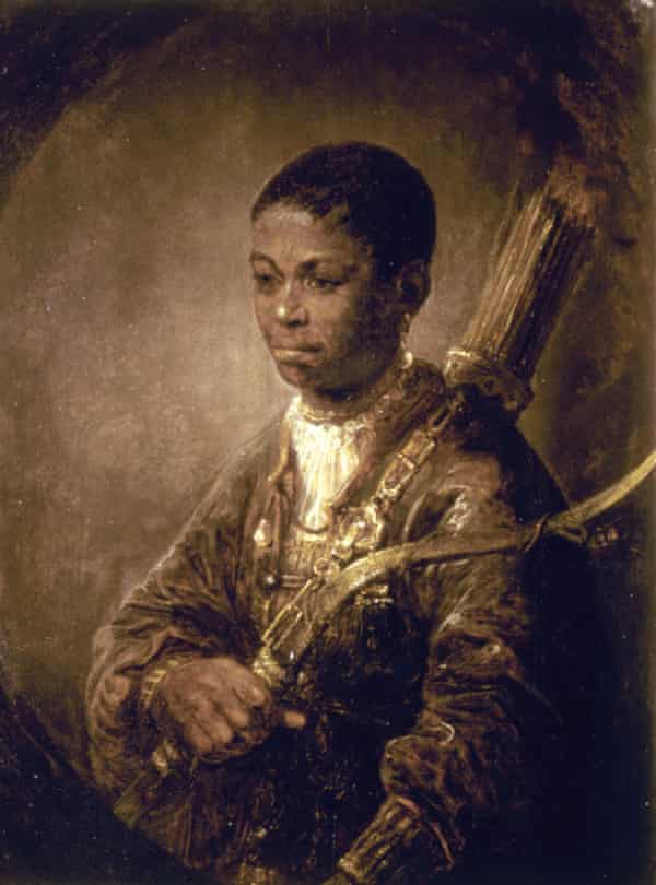 Little hint of slavery's violence … Govert Flinck's A Young Archer.