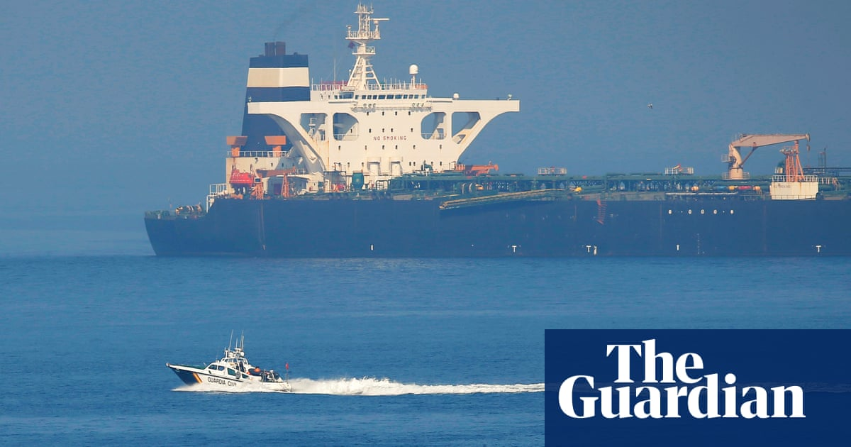 US moves to block release of Iranian vessel in Gibraltar