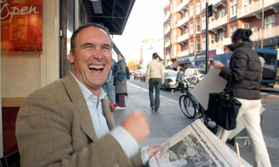 AA Gill pictured in 2003.