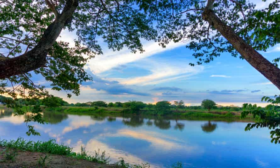 Colombia's Magdalena river where Alexander von Humboldt visited in 1801.
