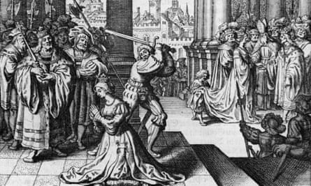 The execution of Anne Boleyn, on 19 May, 1536, was conducted by a French swordsman to limit her pain.