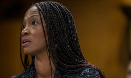 Aurelia Skipwith testifies before the Senate on 11 September 2019 in Washington DC.
