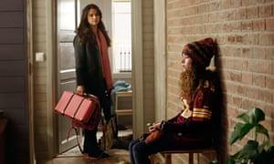 Melinda Kinnaman as Inger Johanne Vik and Esmeralda Struwe as Stina Vik.