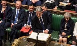 Philip Hammond's budget speech