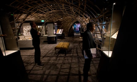 The Encounters exhibition at the National Museum of Australia
