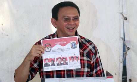 Ahok makes it to run-off in Jakarta governor race