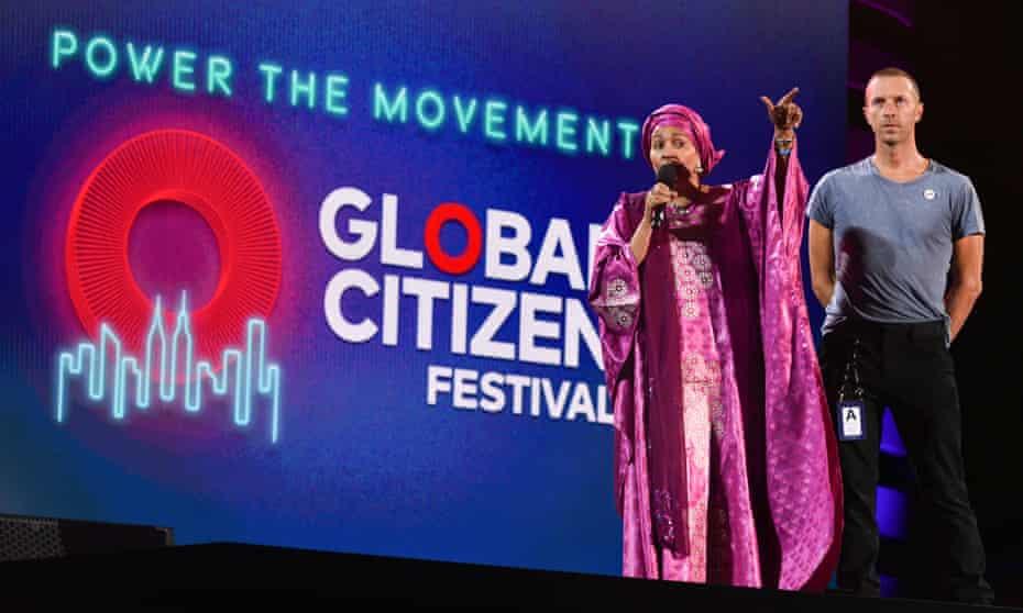 Global Citizen festival in 2019