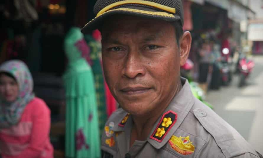Indonesian police officer Untung Sangaji