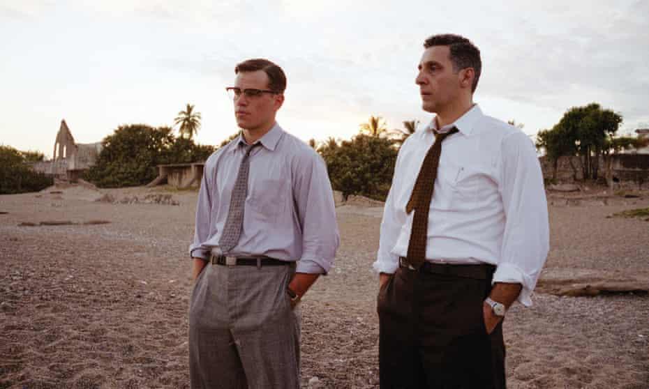 Shadowland … Matt Damon and John Turturro in The Good Shepherd.