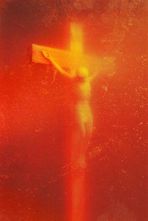 Andres Serrano's Piss Christ.