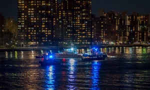 The Coast Guard launched boats to conduct search and rescue operations