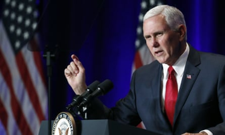 Pence, an evangelical Christian, has visited Israel four times before and pushed for Trump's inflammatory policies in the Middle East.
