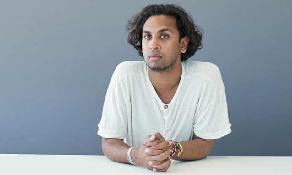Guy Gunaratne: 'I didn't think ahead to an audience when I was writing this book – I was just having a ball.'