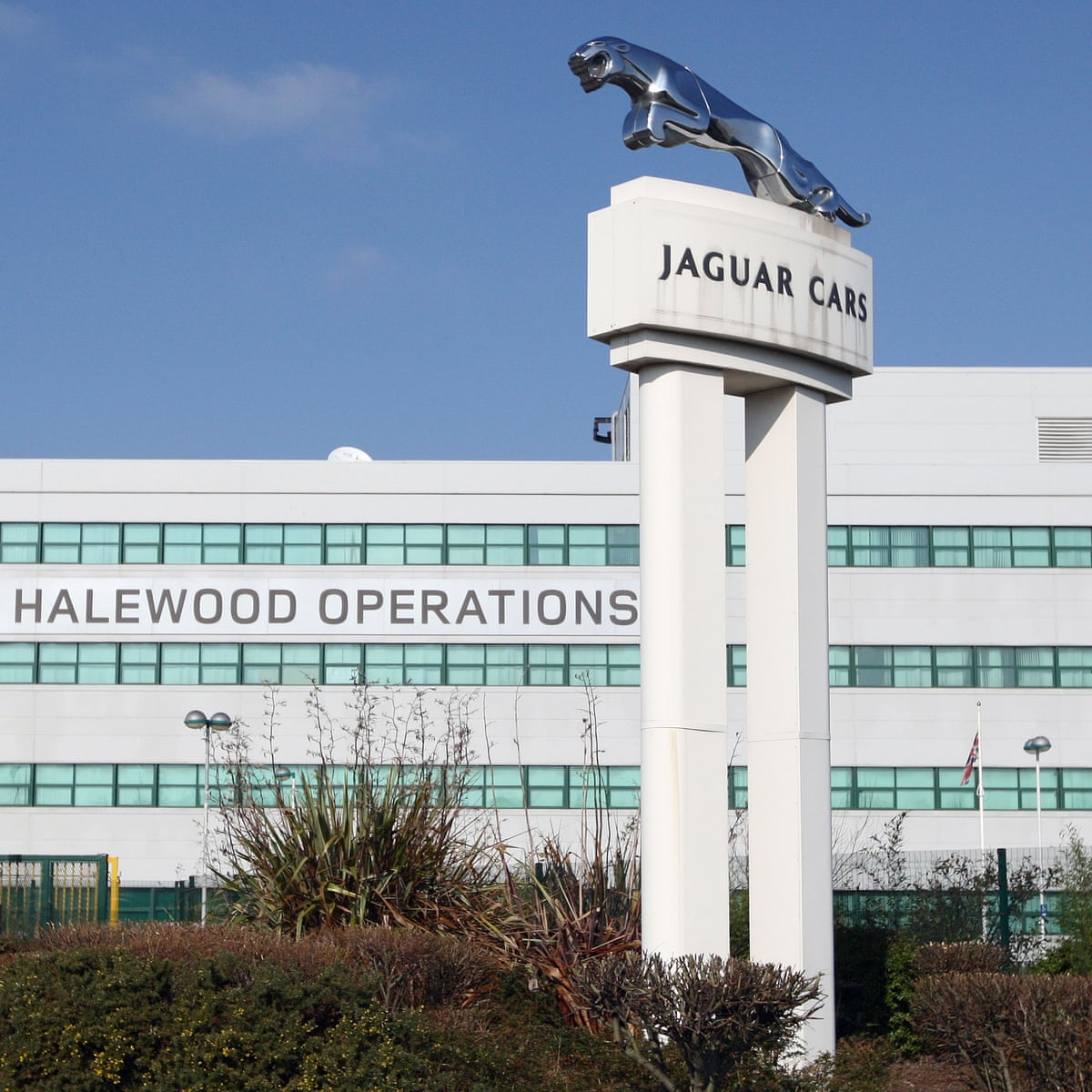 Jaguar Land Rover To Shut Merseyside Plant For Nine Days Jaguar Land Rover The Guardian