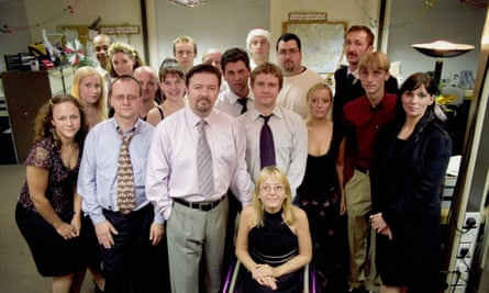 The Office. Probably not best described as a documentary about the joys of working in Slough.
